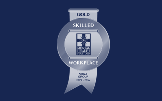 Gold Skilled Workplace Accreditaiotn - Mental Health First Aid Courses by MHFA Australia
